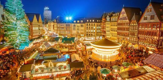 Swiss Crown ile  Noel Pazarları ve Romantik Ren Nehri & 3 Ülke 24 Kasım 2019