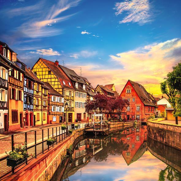 **Ramazan Bayramı** Colmar Alsace & Strazburg ve Almanya Turu 4 Gece