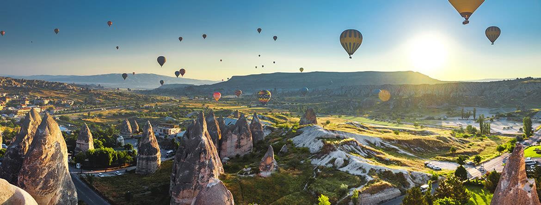 Uçaklı Kapadokya Turu Perissia Otel Ürgüp