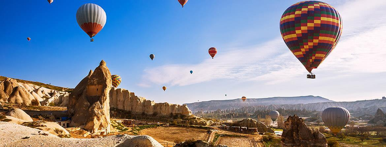 Kapadokya Turu 1 gece konaklamalı Antalya Çıkışlı