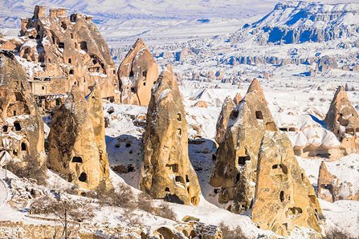 Uçaklı Kapadokya Kayseri Turu Perissia Hotel